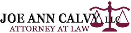 JOE ANN CALVY, LLC - ATTORNEY AT LAW